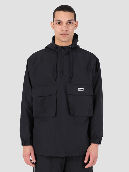 Obey Inlet Anorak BLK 121800359