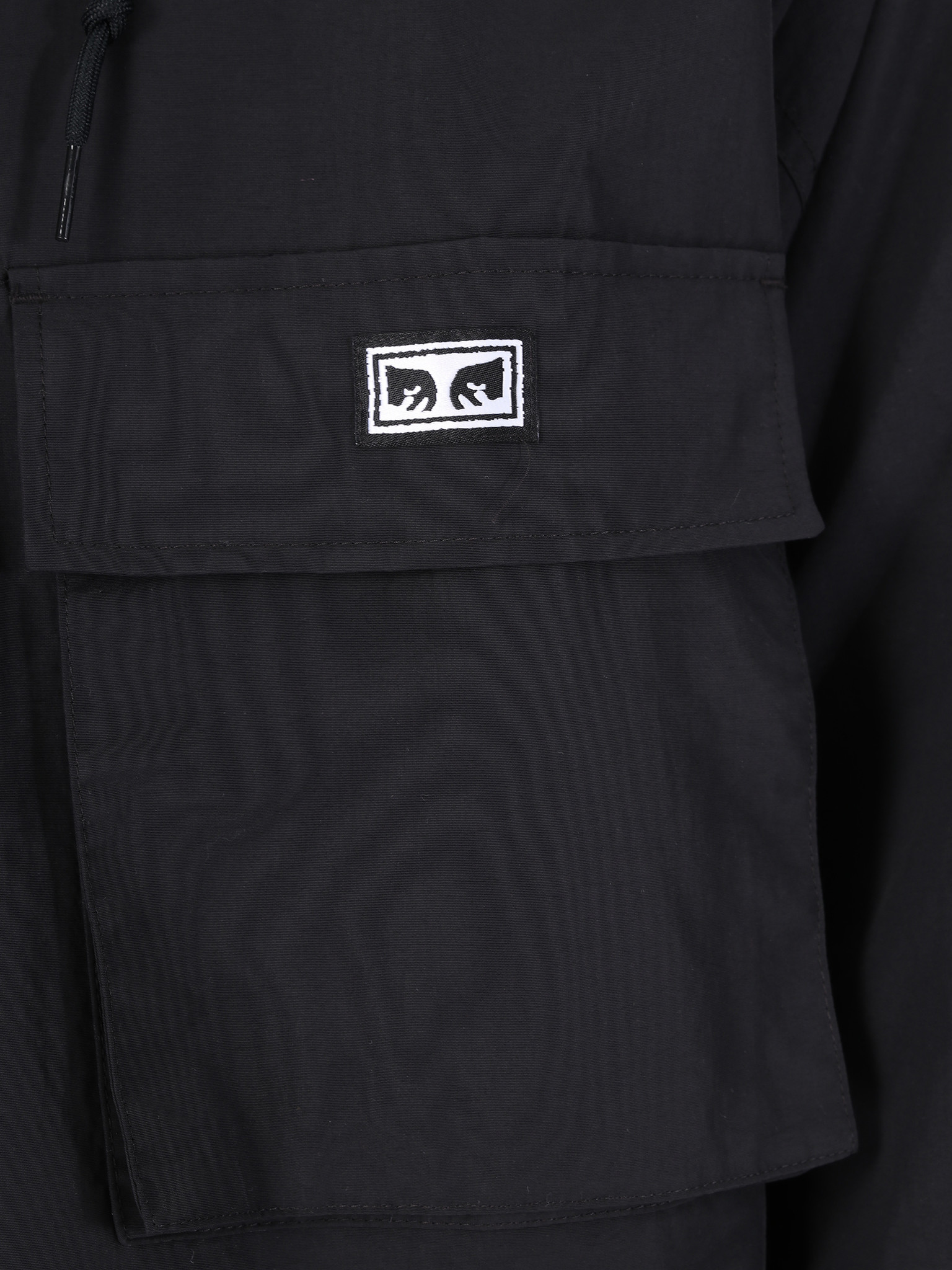 Obey Obey Inlet Anorak BLK 121800359