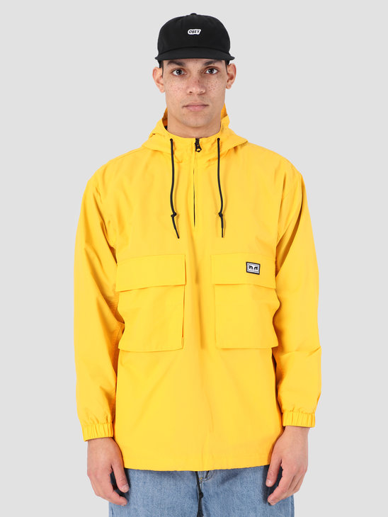 Obey Inlet Anorak YEL 121800359