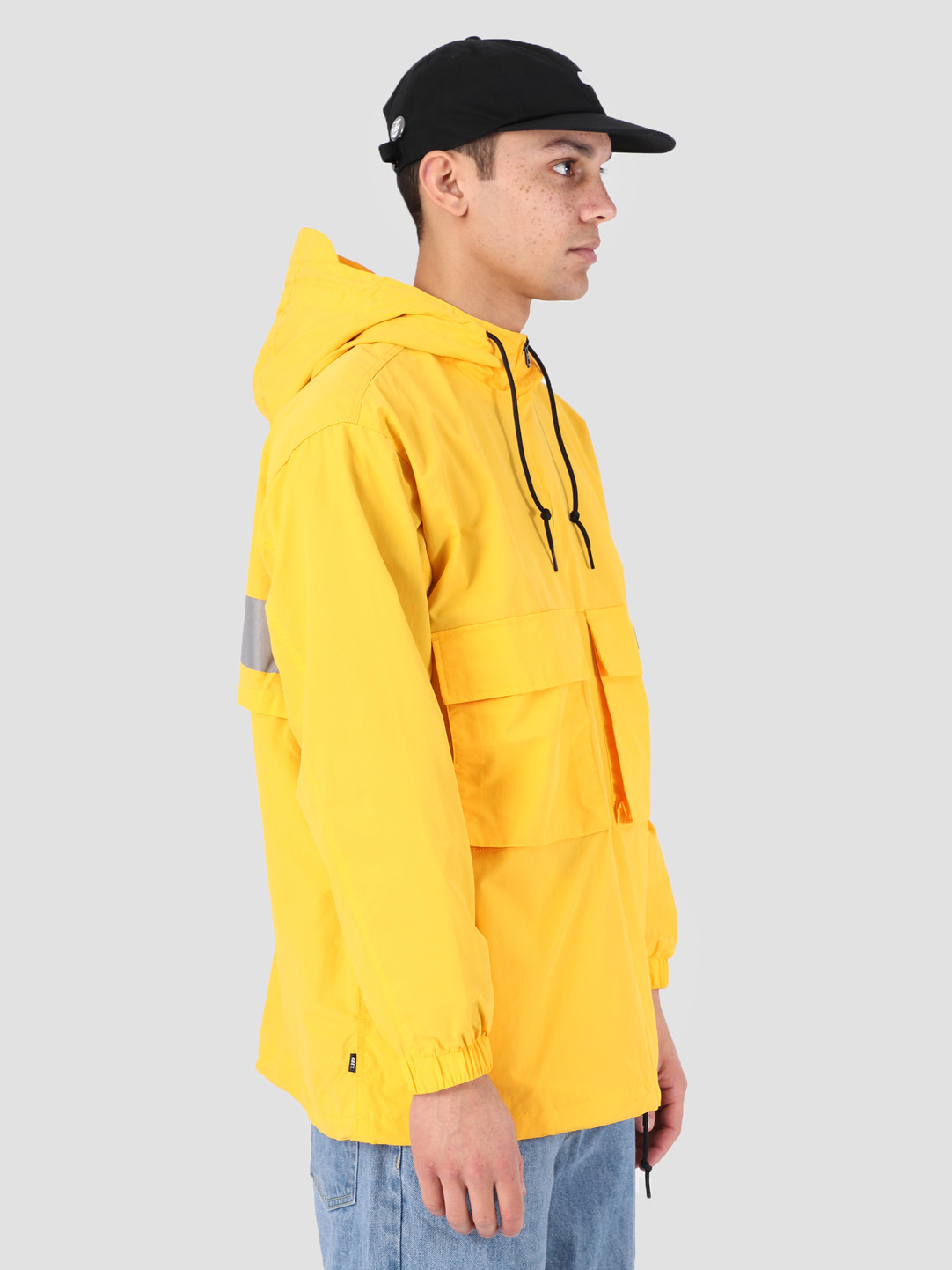 Obey Obey Inlet Anorak YEL 121800359