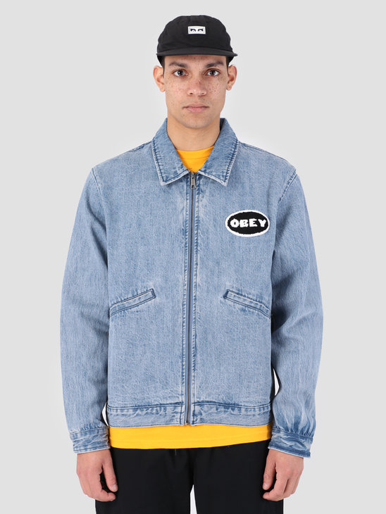 Obey Release Denim Jacket LIN 121800368