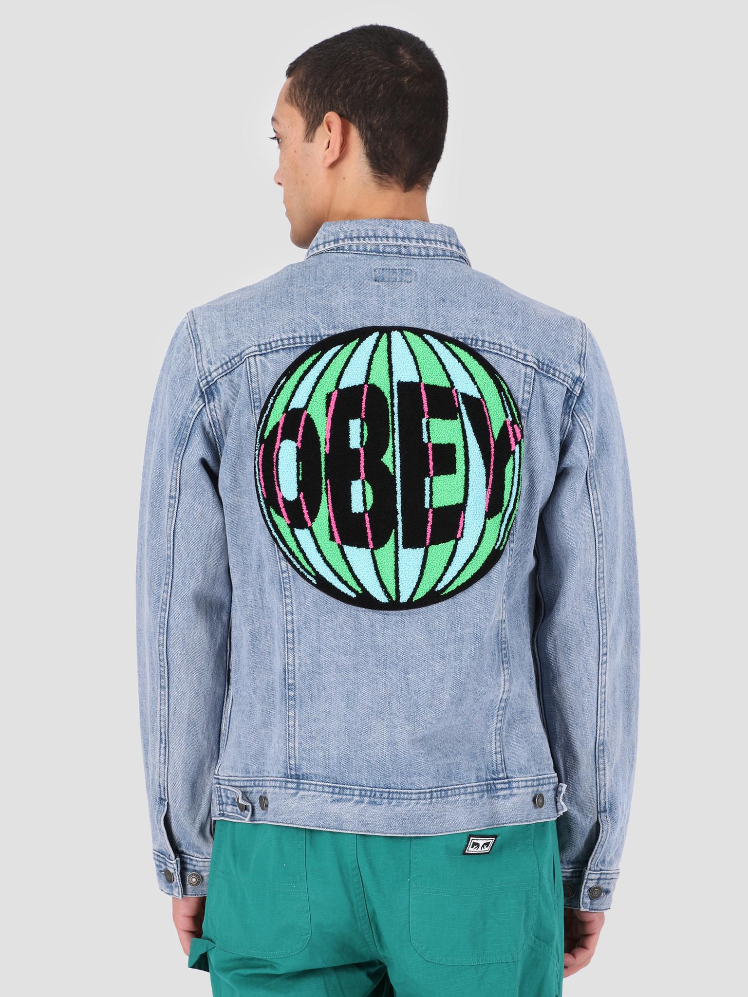 Obey Obey New Reality Denim Jacket LIN 121800367