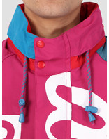 By Parra By Parra Jacket Red Piste Multi 42160