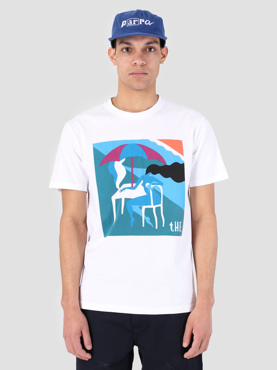 By Parra T-Shirt The Monaco White 42110