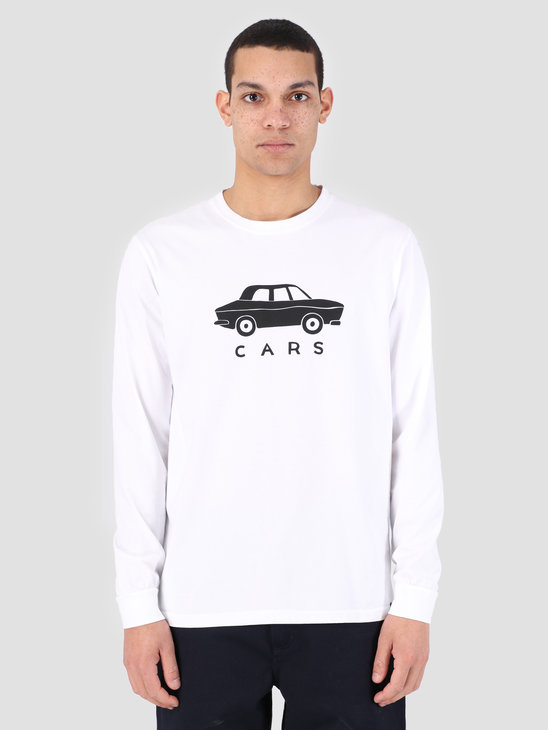 By Parra Longsleeve T-Shirt Gary'S Stre White 42130