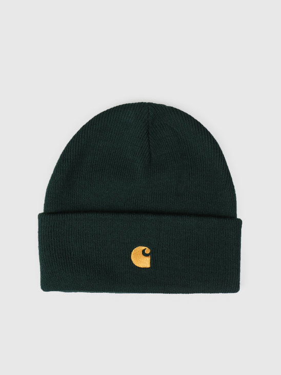Carhartt WIP Chase Beanie Bottle Green I026222