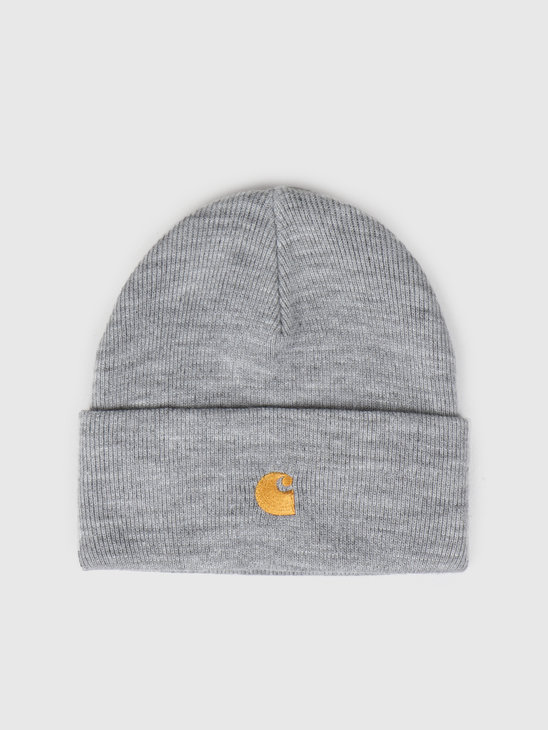 Carhartt WIP Chase Beanie Grey Heather I026222
