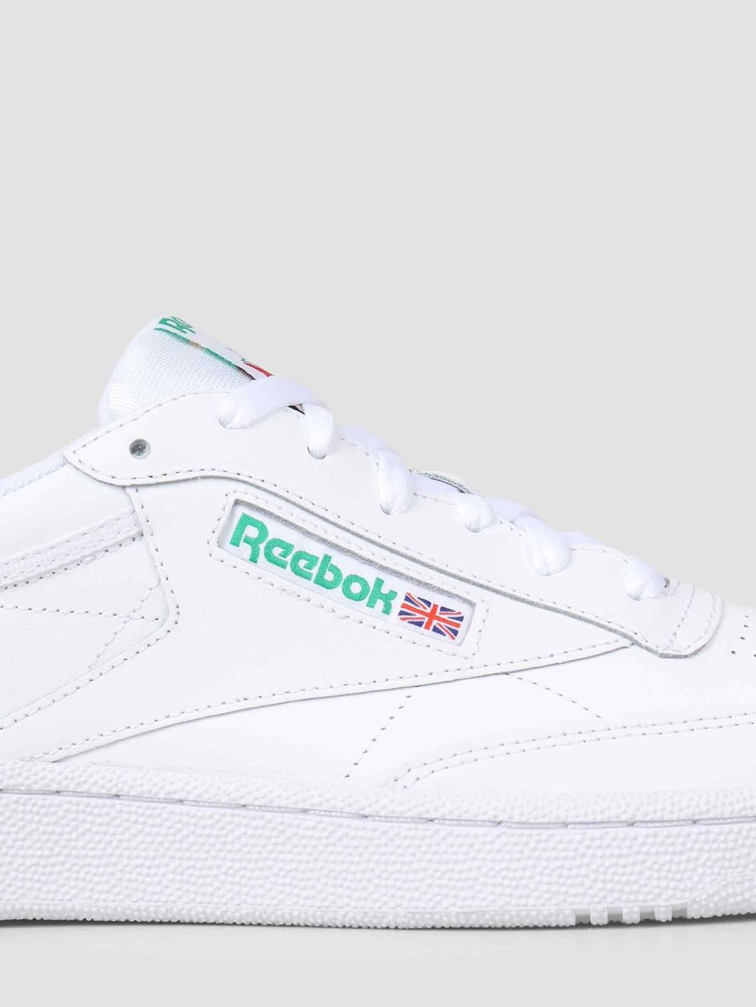 Reebok Reebok Club C 85 White Green AR0456