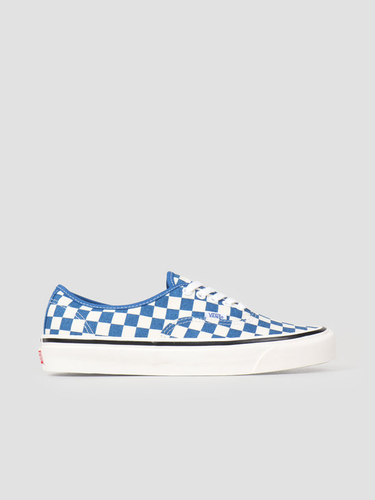 Vans UA Authentic 44 DX Anaheim OG Blue Check Vn0A38Envkx1