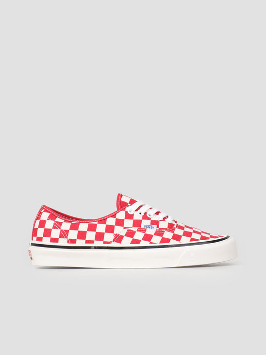 Vans UA Authentic 44 DX Anaheim OG Red Check Vn0A38Envl11