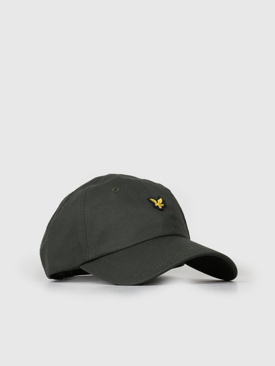Lyle and Scott Baseball Cap Z262 Leaf Green HE906A