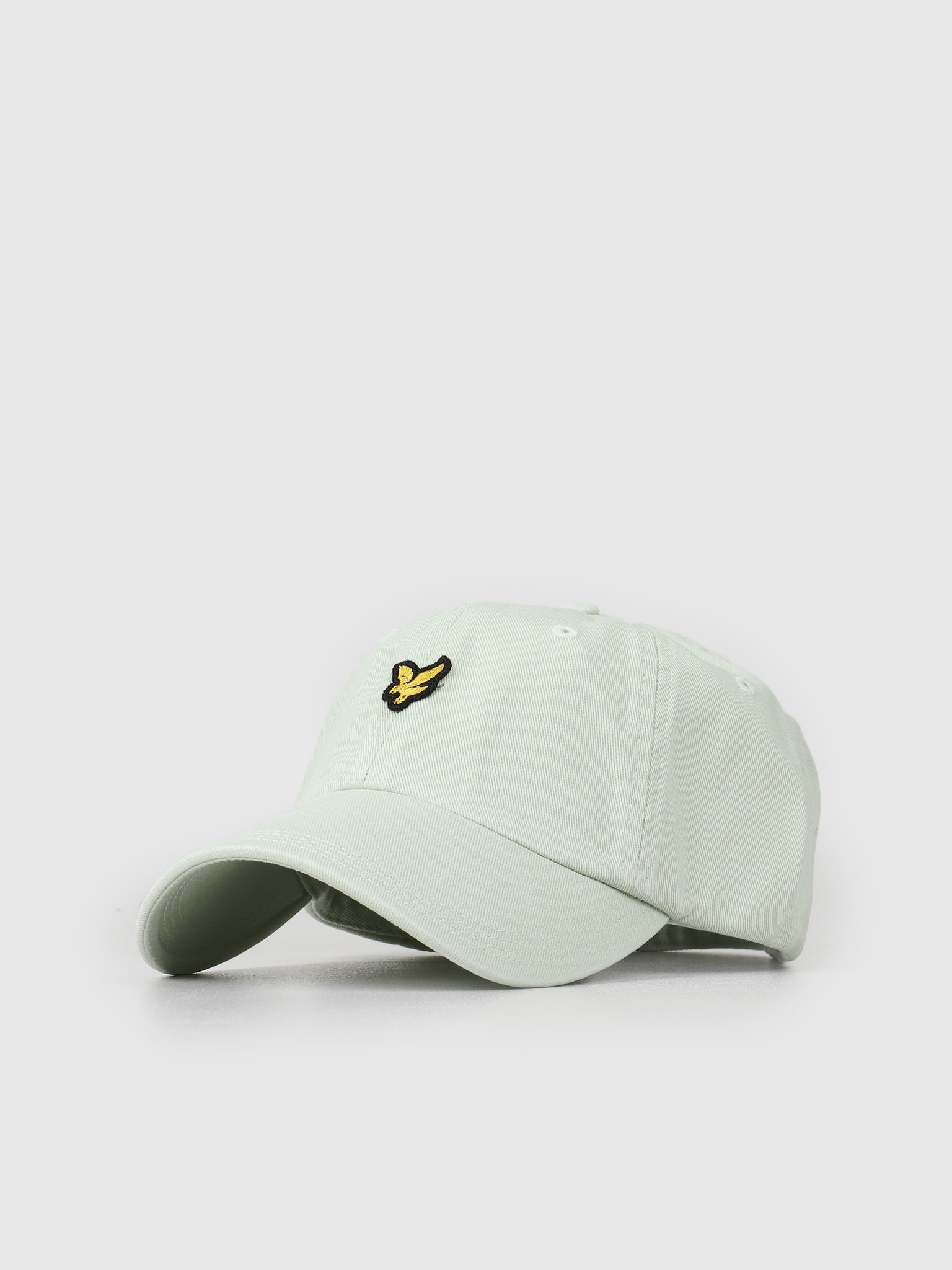 Lyle and Scott Lyle and Scott Washed Twill Baseball Cap Z457 Sea Foam Green HE1003A