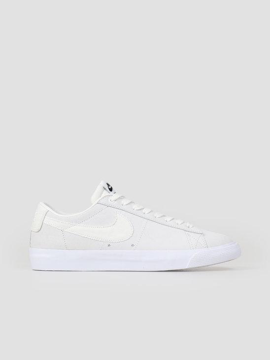 45684d5565a8 Nike SB Blazer Low GT Skateboarding Shoe Summit White Summit White-Obsidian  704939-100 ...