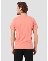 RVLT RVLT Rolled Edges T-Shirt Red Melange 1003