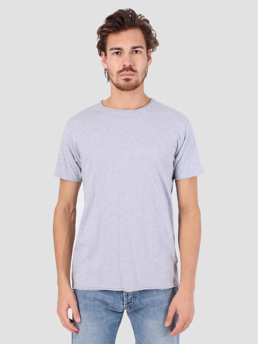 RVLT RVLT Rolled Edges T-Shirt Purple Melange 1003
