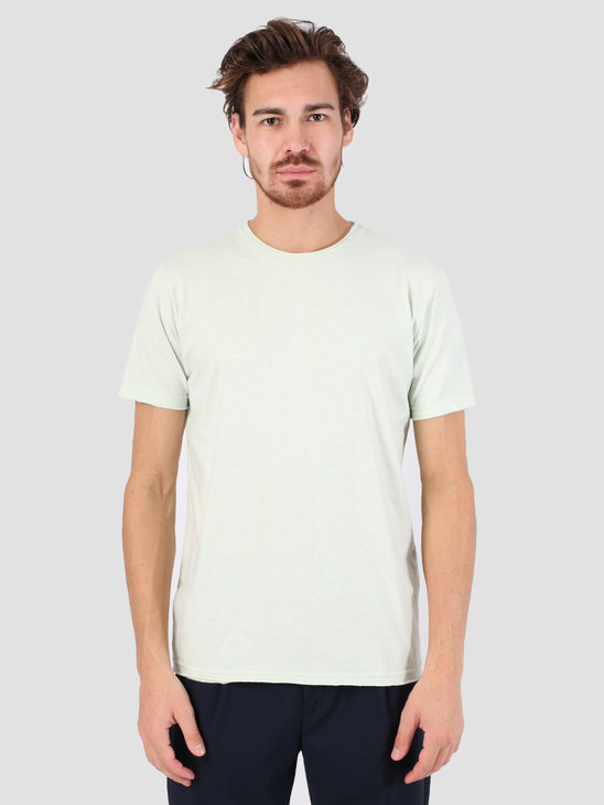 RVLT Rolled Edges T-Shirt Mint Melange 1003