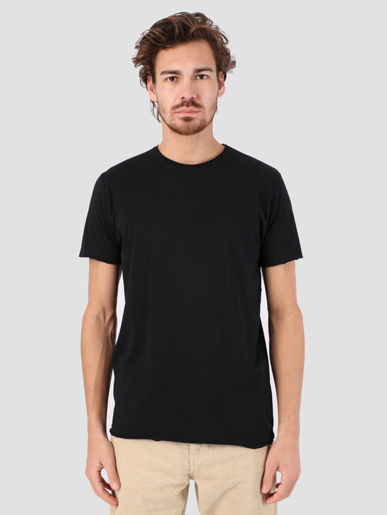 RVLT Rolled Edges T-Shirt Black 1003