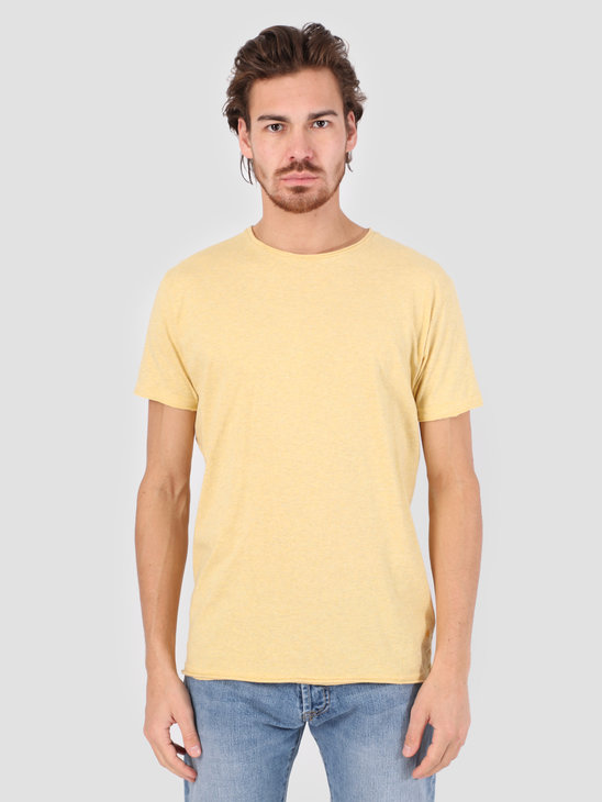 RVLT Vilfred T-Shirt Yellow Mel 1003