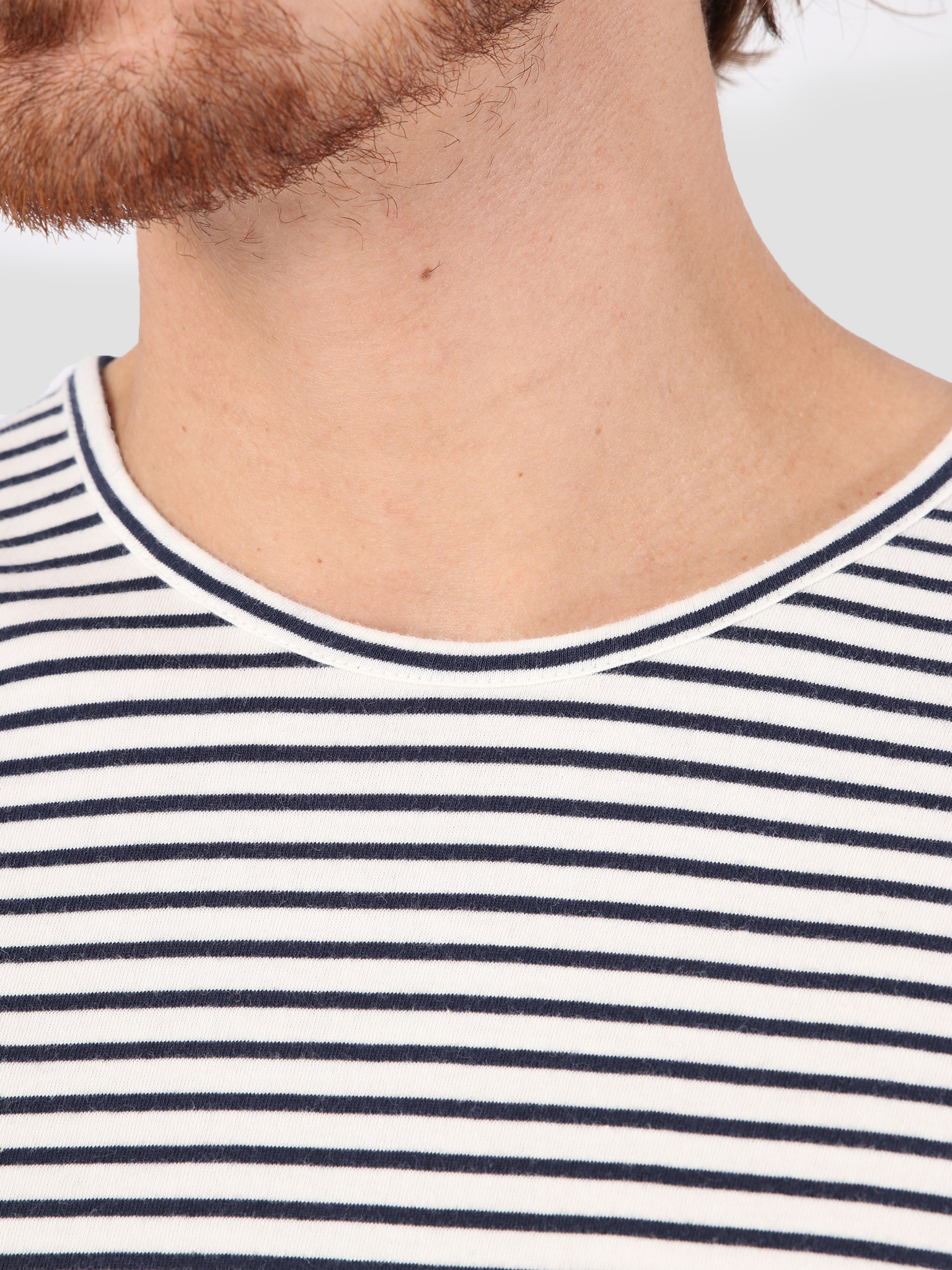 RVLT RVLT Striped T-Shirt Offwhite 1005