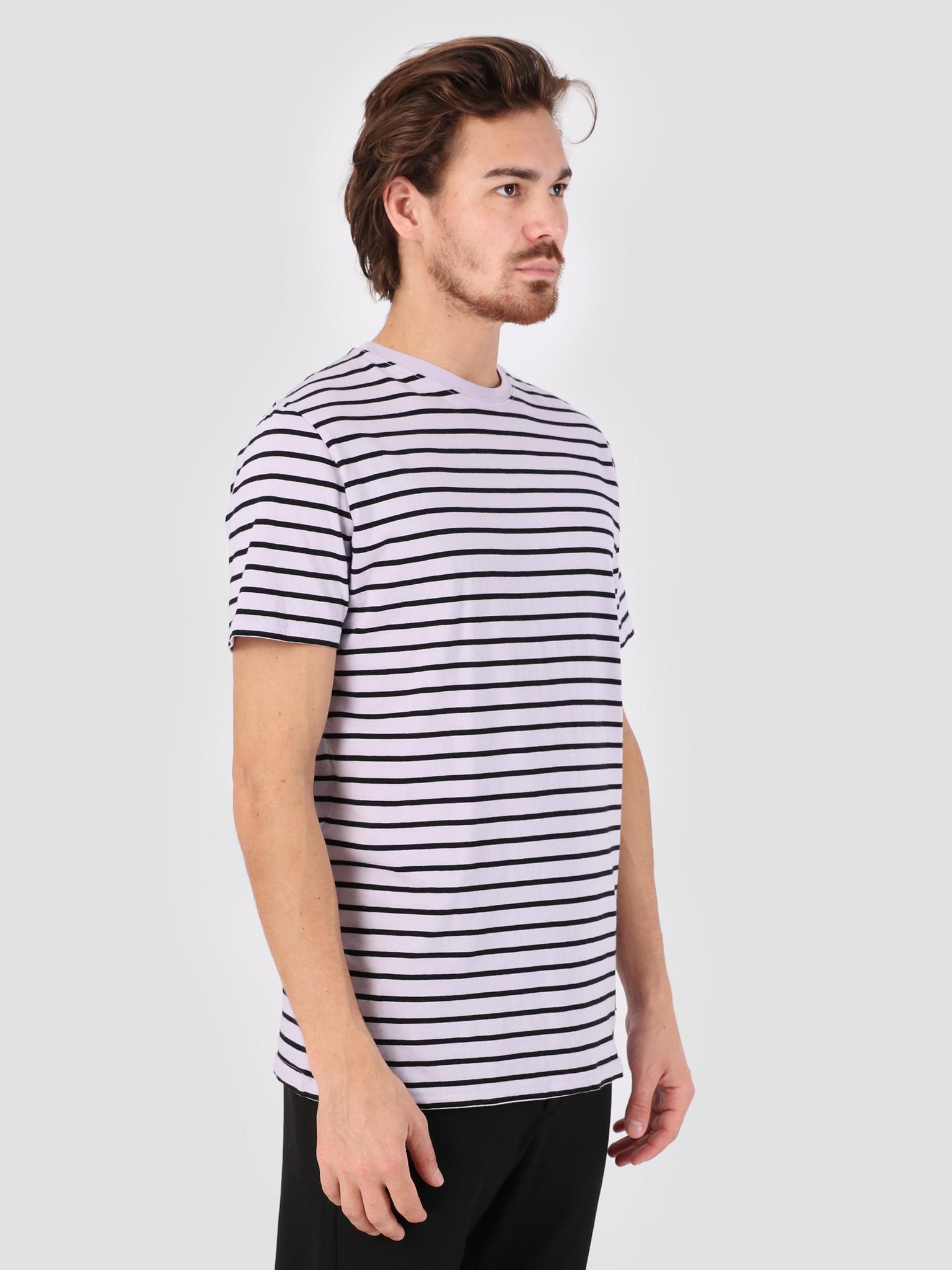 RVLT RVLT Big Striped T-Shirt  Purple 1016