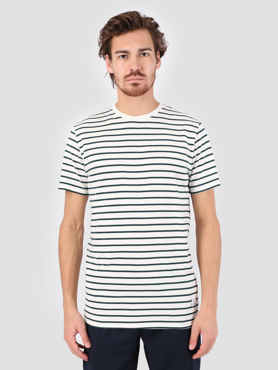 RVLT Big Striped T-Shirt  Offwhite 1016