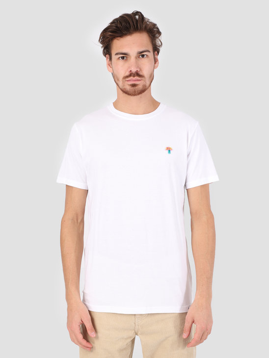 RVLT 3D Effect T-Shirt White 1103 MUS