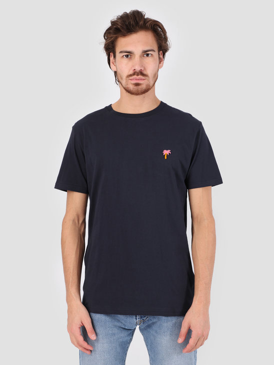 RVLT 3D Effect T-Shirt Navy 1103 PAL