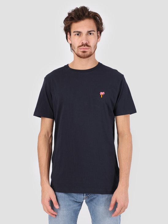 RVLT 3D Effect T-Shirt Navy 1103 PAL