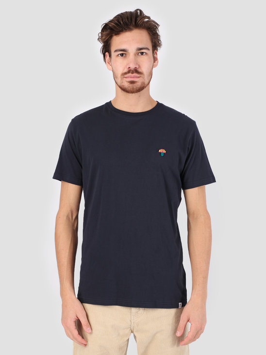 RVLT 3D Effect T-Shirt Navy 1103 MUS