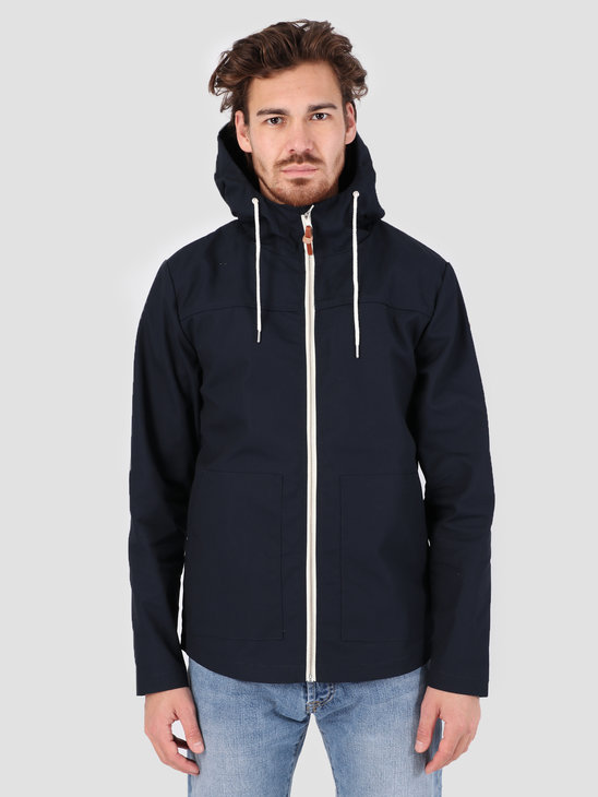 RVLT Short Hooded Jacket Light Navy 7351