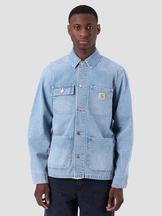 Carhartt WIP Michigan Coat Light True Stone Blue I022945