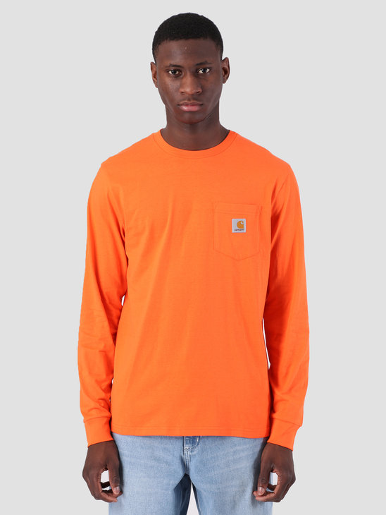 Carhartt WIP Longsleeve Pocket T-Shirt Pepper I022094
