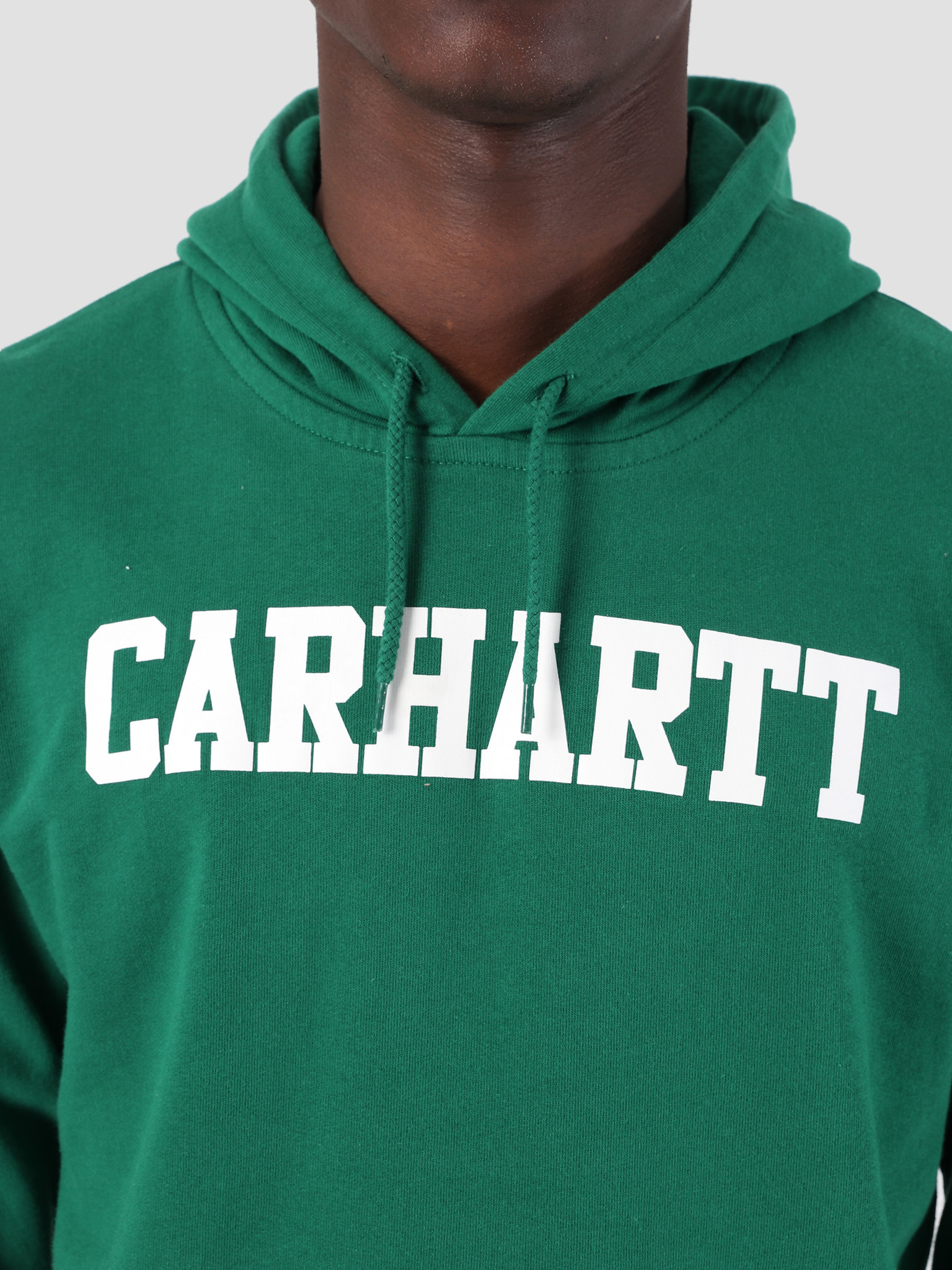 Carhartt WIP Carhartt WIP Hooded College Sweat Dragon White I024669