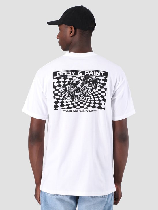 Carhartt WIP Body & Paint T-Shirt White Black I026424