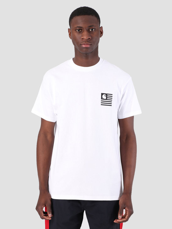 Carhartt WIP State Patch T-Shirt White I026409