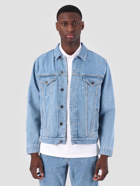 Carhartt WIP Western Jacket Stone Bleached Blue I026544