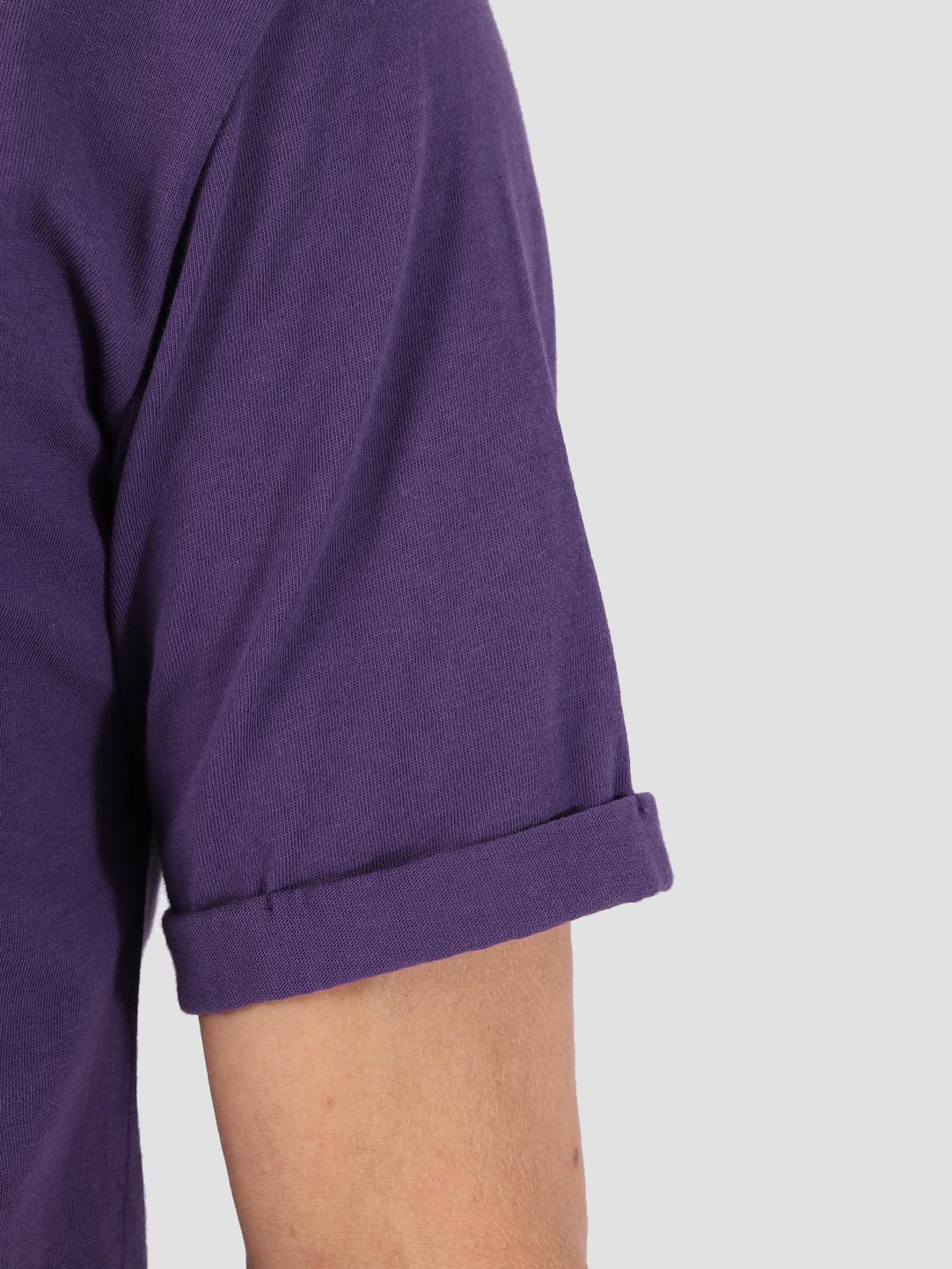 Les Deux Les Deux Les Deux T-Shirt Dark Purple White LDM101001
