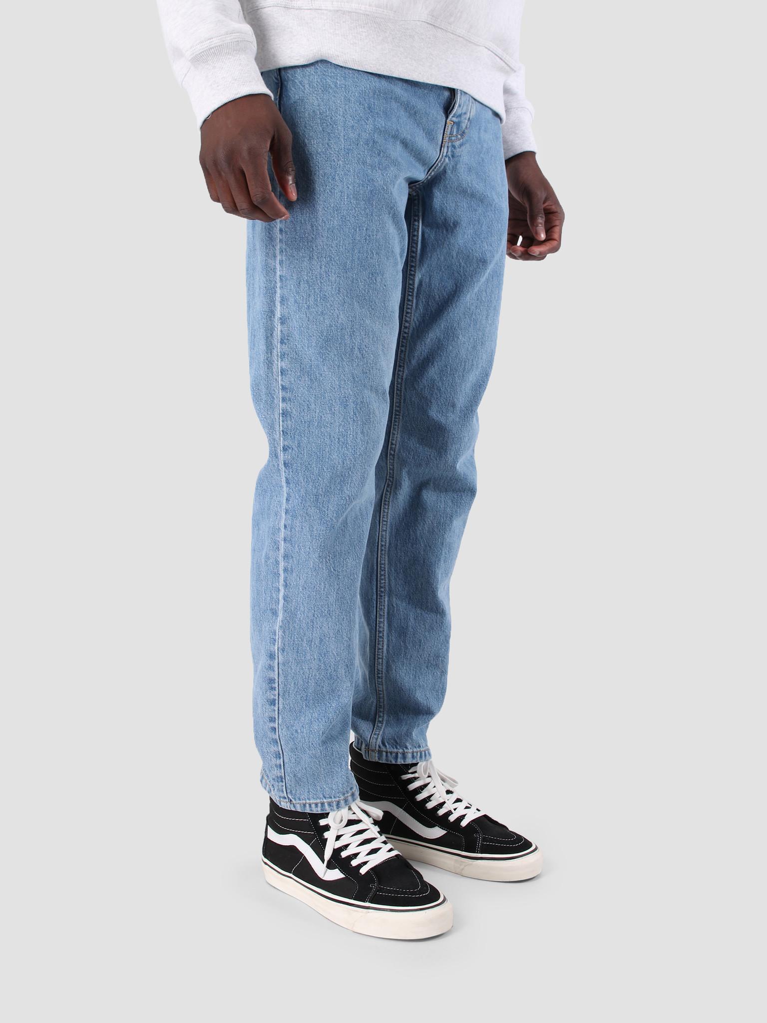 Carhartt WIP Carhartt WIP Newel Pant Stone Bleached Blue I024904-112