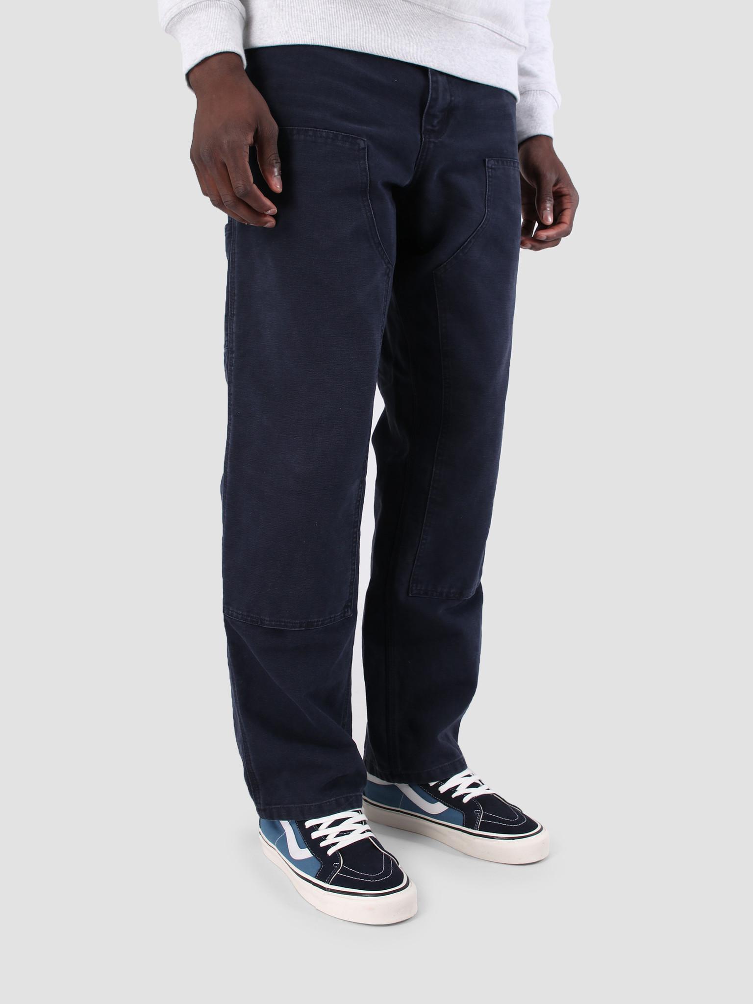 Carhartt WIP Carhartt WIP Double Knee Pant Aged Canvas Dark Navy I026489