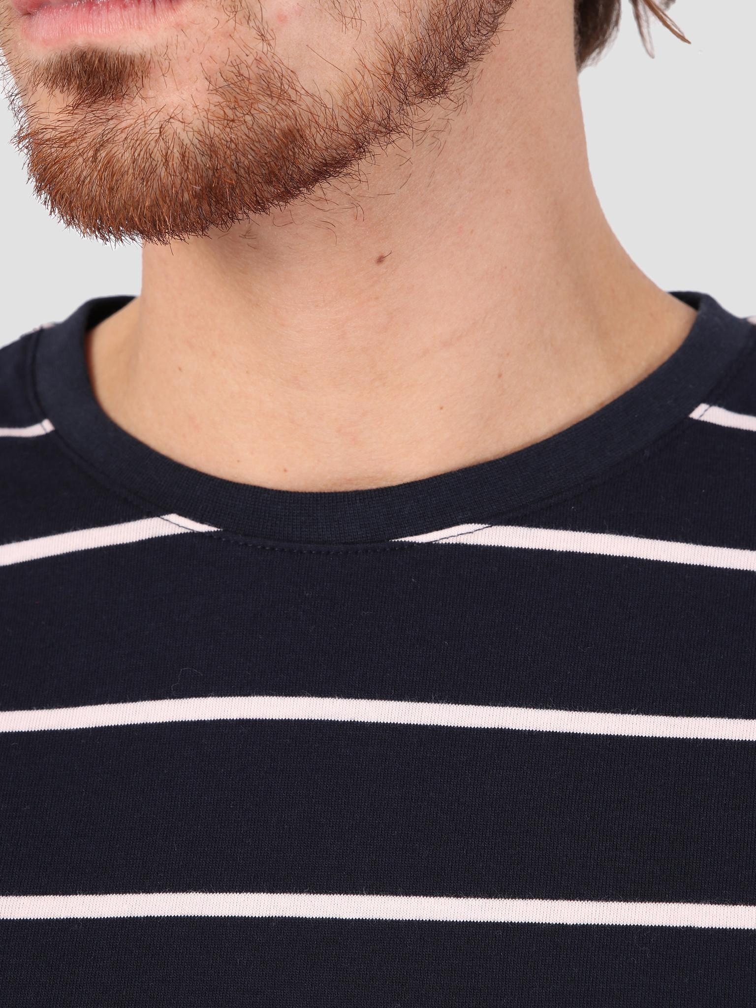 Les Deux Les Deux Betrois Longsleeve T-Shirt Dark Navy Rose LDM110006