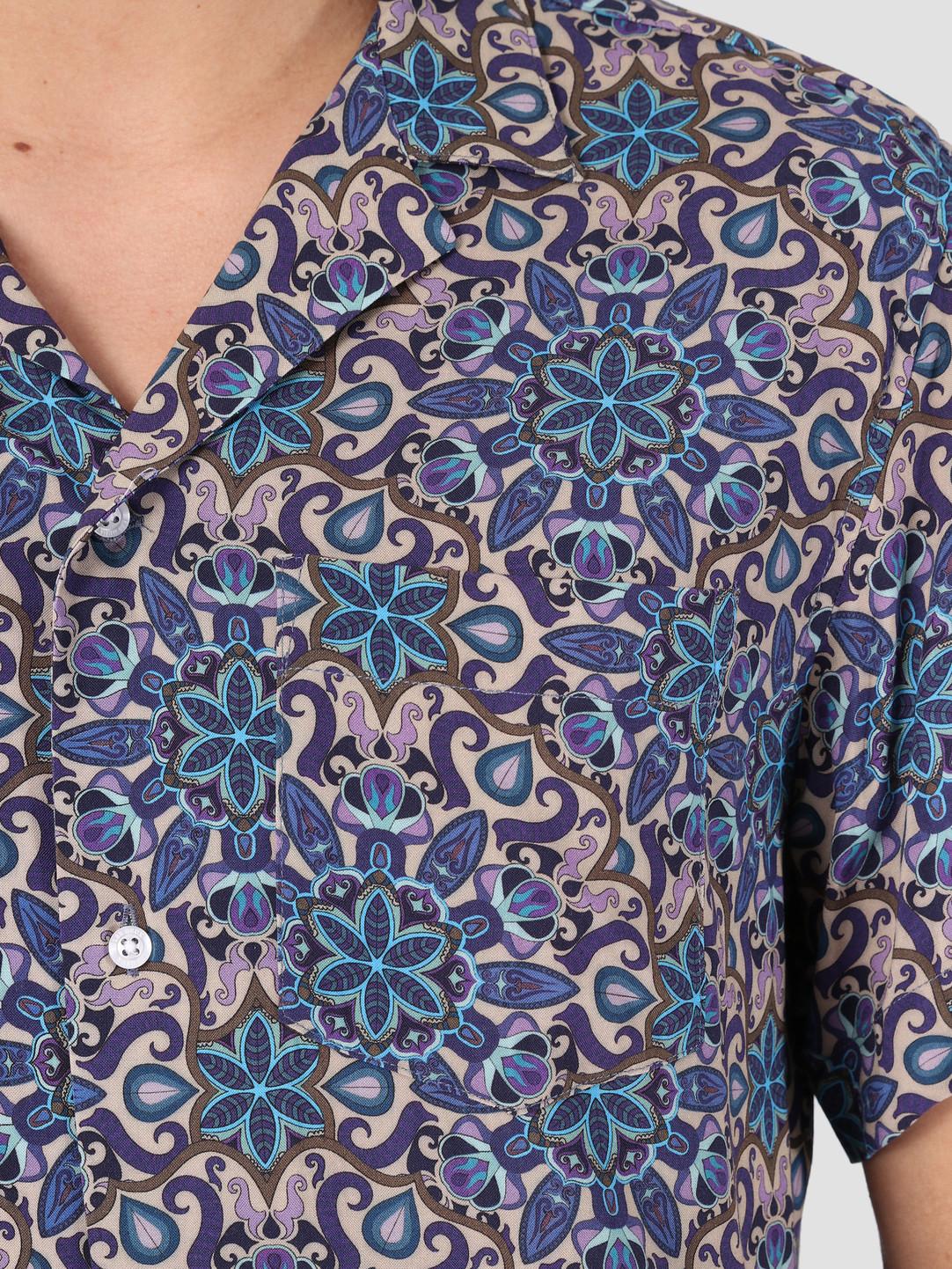 Les Deux Les Deux Psychedelique Shirt Purple LDM401007