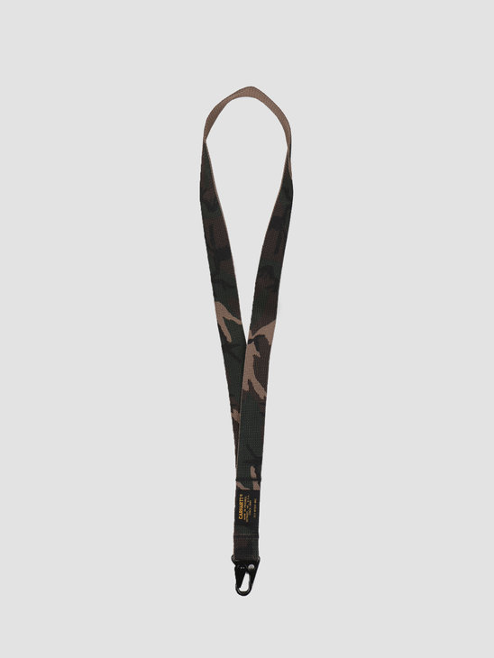 Carhartt WIP Military Key Chain Long Camo Laurel I026204