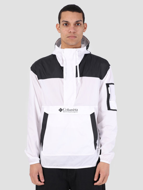 Columbia Challenger Windbreaker White Black 1714291101