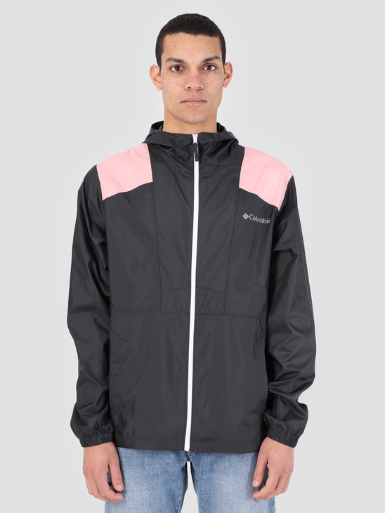 Columbia Flashback Windbreaker Shark Rosewate 1589325016