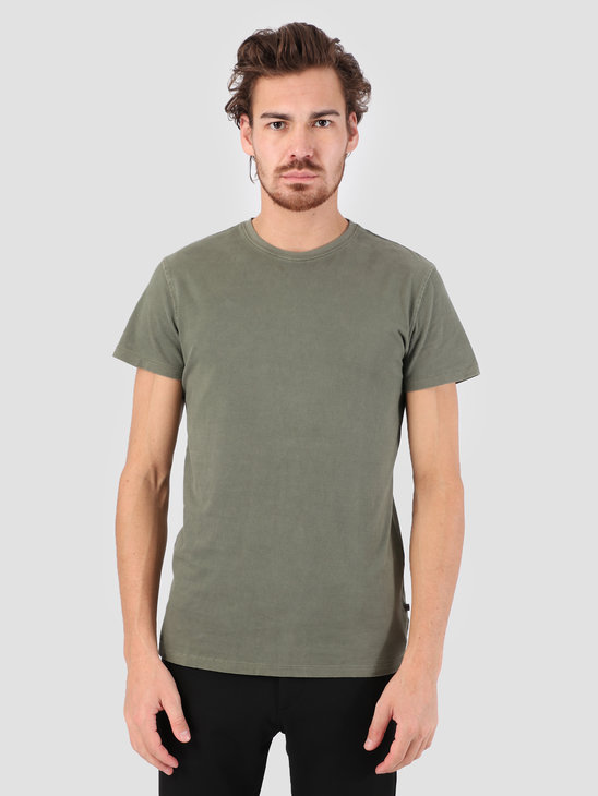 Kronstadt Hey Ho Basic T-Shirt Moos KS2455