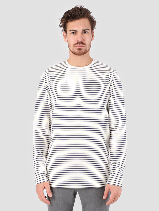 Kronstadt Melta T-Shirt Off White Navy KS2699