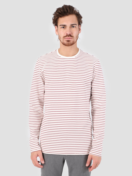 Kronstadt Melta T-Shirt Off White Red KS2699