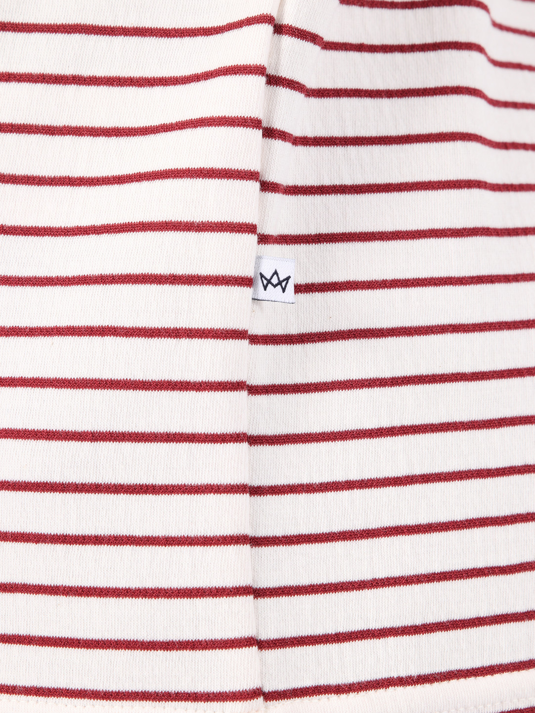 Kronstadt Kronstadt Melta T-Shirt Off White Red KS2699