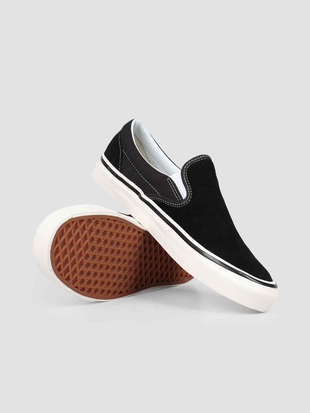 Vans Vans UA Classic Slip-On 98 DX Anaheim Suede OG Black Vn0A3Jexqu11