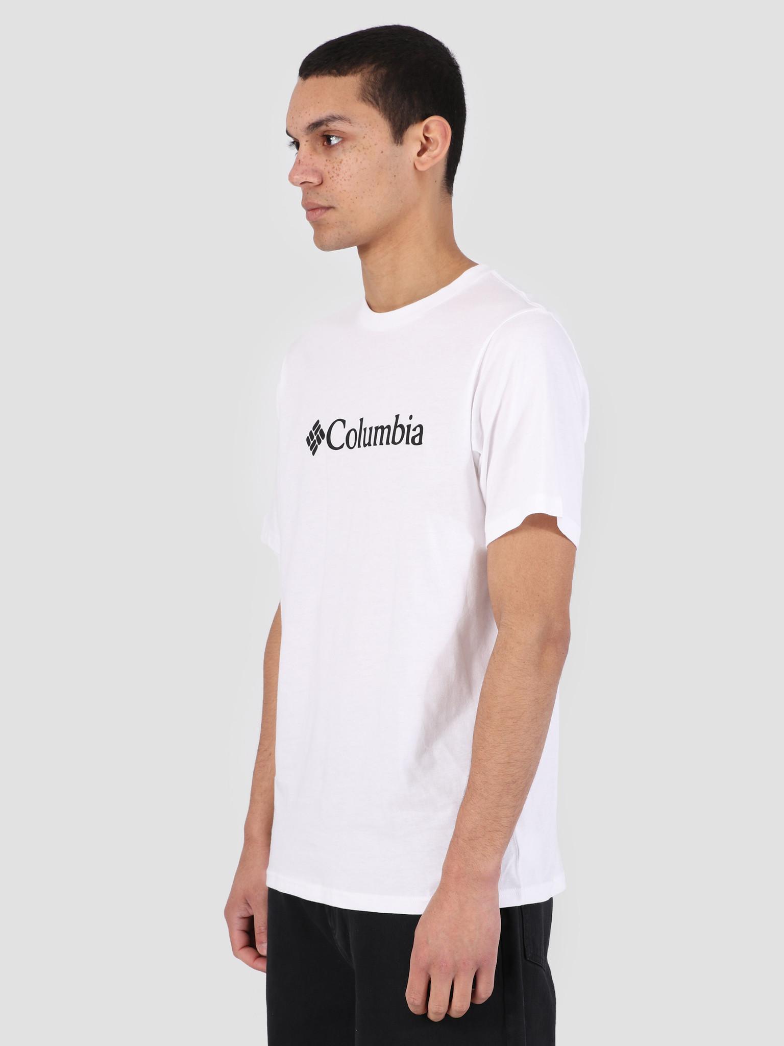 Columbia Columbia CSC Basic Logo T-Shirt White 1680051100